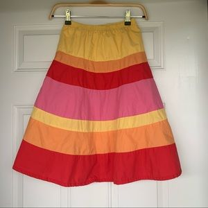 •Gymboree• Girl's Colorblock Maxi Skirt - Size 8